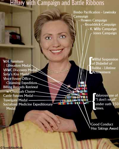'COMMANDER IN CHIEF' HILLARY - CAMPAIGN & BATTLE RIBBONS-132134.jpg