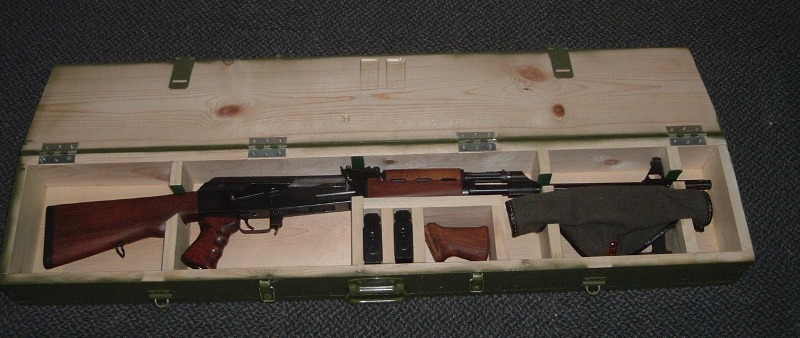 Rifle Crate Or Plans
