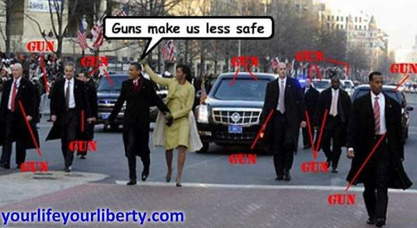 Hypocrisy Of Liberals Who Cling To Their Guns-o-guns.jpg