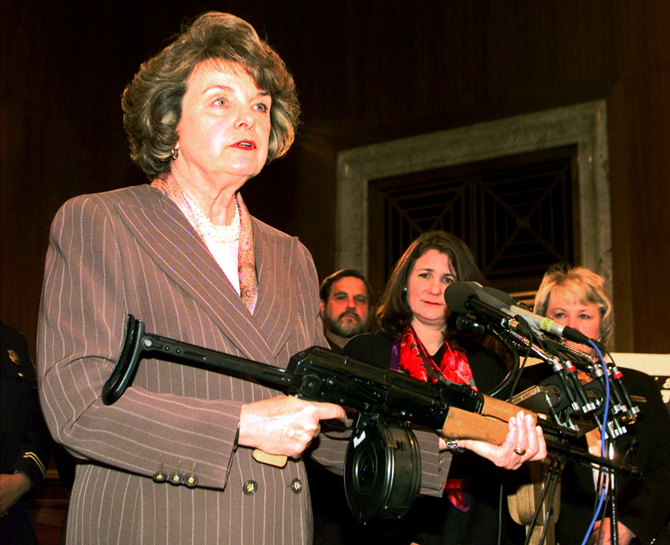 Happy Halloween for Gun Owners-senator-feinstein-demonstrates-trigger-control-ak-47-courtesy-wired_com_.jpg
