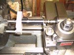 Lathe dog for barrel.JPG